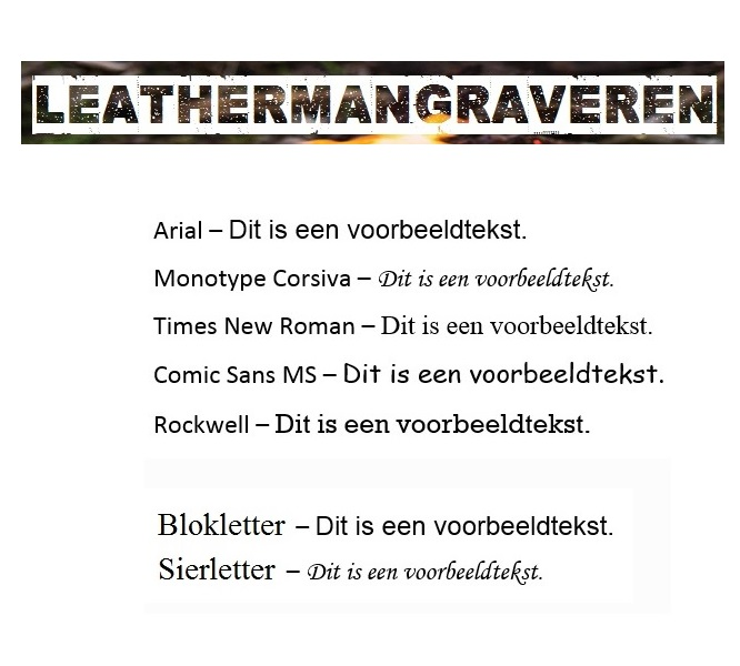 Leatherman Free K2 Evergreen Groen graveren / personaliseren